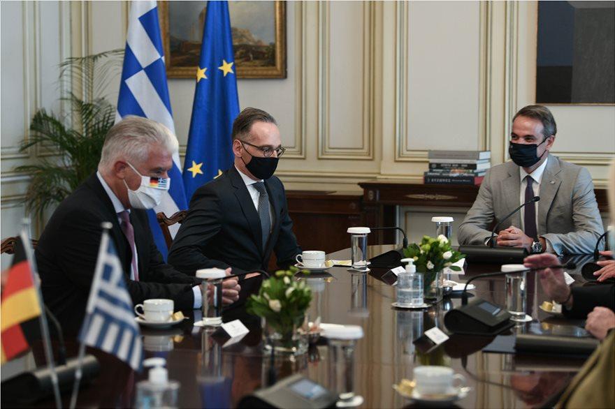 Στην Αθήνα ο Γερμανός υπ. Εξωτερικών: Ζήτησε τερματισμό των προκλήσεων