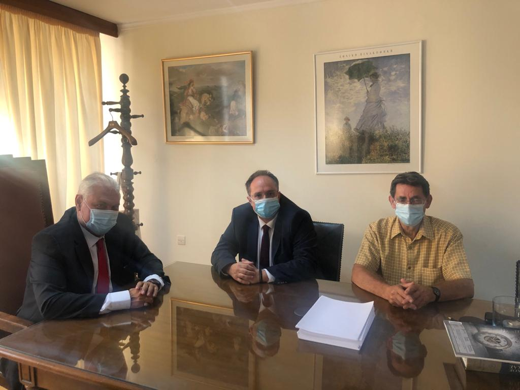 Επίσκεψη του γ.γ. του υπουργείου Δικαιοσύνης, Π. Αλεξανδρή στο Πρωτοδικείο Αθηνών