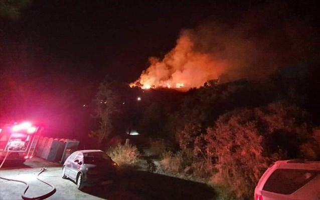 Νέα πυρκαγιά στο ΚΥΤ Σάμου μέσα σε λίγες μέρες