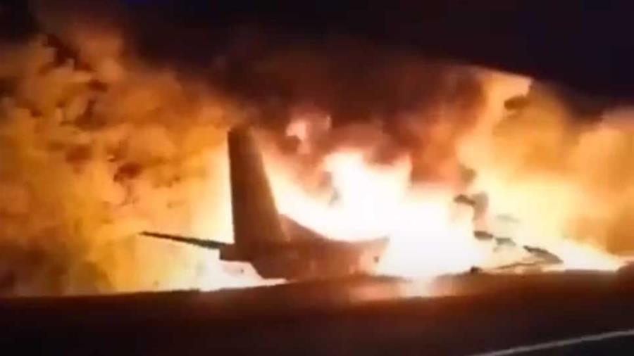 Συνετρίβη αεροσκάφος στην Ουκρανία – Τουλάχιστον 22 νεκροί (video)