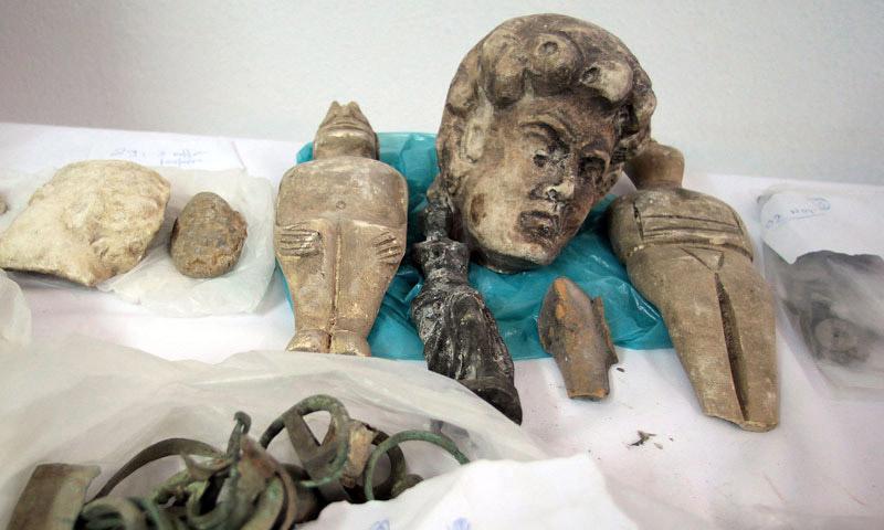 Ένα μουσείο στο… σπίτι του είχε επιχειρηματίας της Ρόδου- Σε ανακριτή για αρχαιοκαπηλία