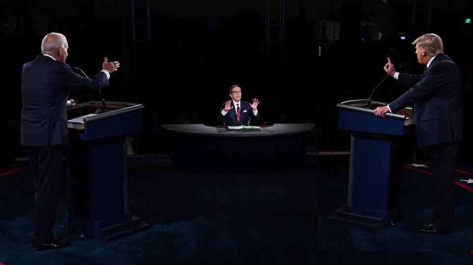 Εκλογές ΗΠΑ: Έντονη αντιπαράθεση με βαρείς χαρακτηρισμούς το πρώτο debate Τραμπ-Μπάιντεν – Νικητής στο πρώτο debate ο Μπάιντεν