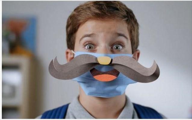 ΓΓΠΠ: Οι μάσκες που χαμογελούν όπως αυτοί που αγαπάς