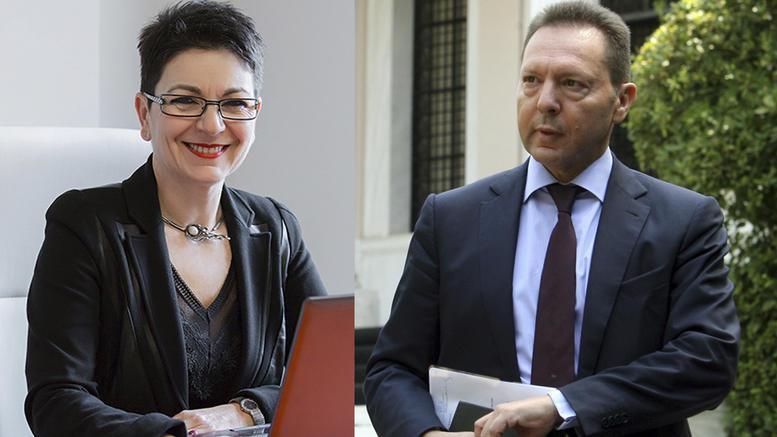 Αθωώθηκε η σύζυγός του διοικητή της ΤτΕ Γιάννη Στουρνάρα