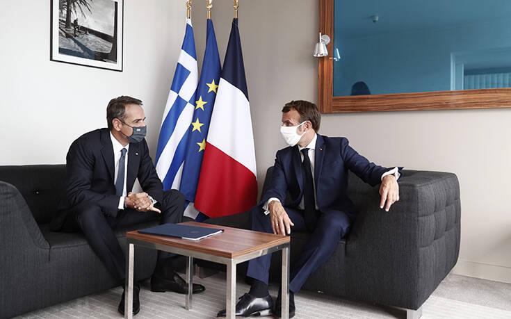 Συμφωνία Μητσοτάκη – Μακρόν για την Τουρκία: «Σταματούν οι προκλήσεις αλλιώς κυρώσεις»