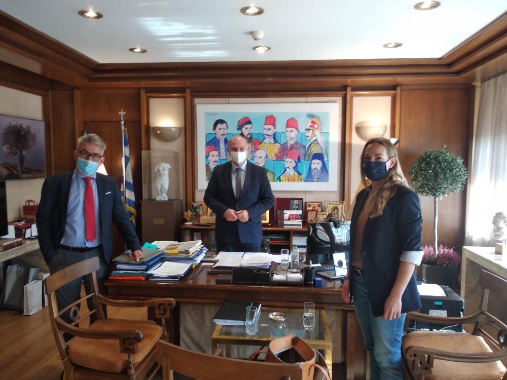 Ενημερωτική συνάντηση του τομεάρχη Δικαιοσύνης του ΣΥΡΙΖΑ με τον υπουργό Δικαιοσύνης