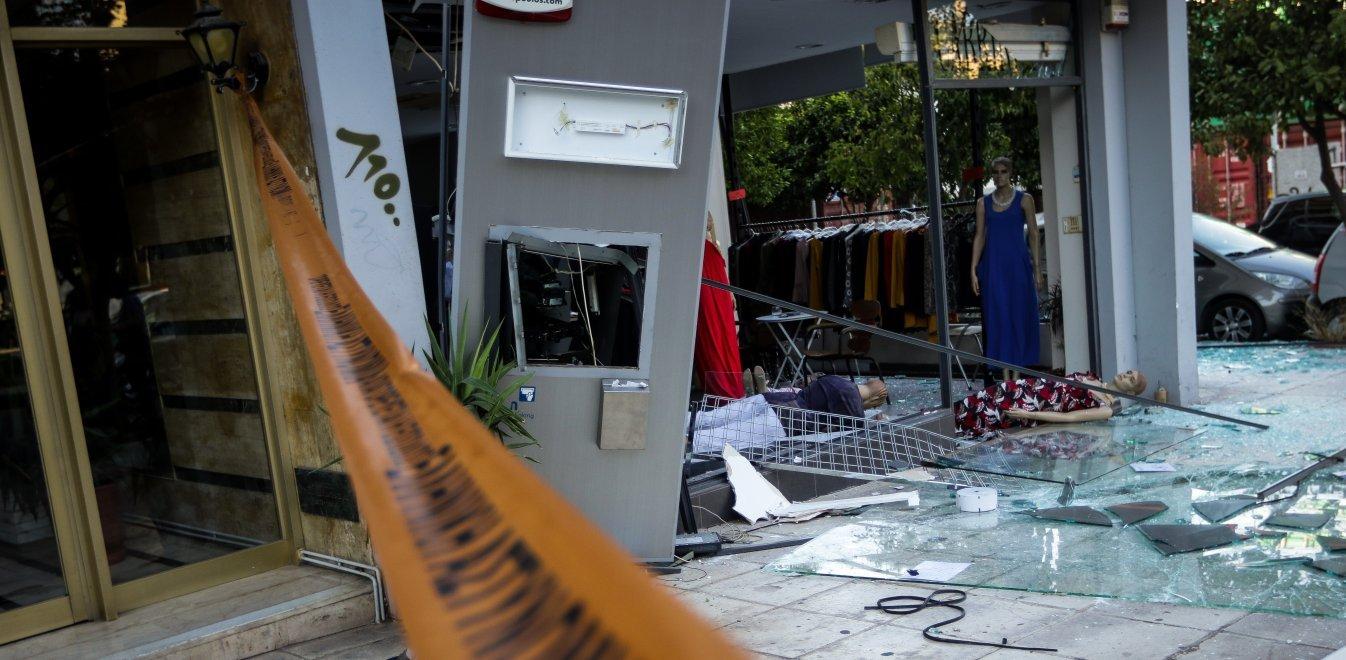 Θεσσαλονίκη: Ανατίναξαν ΑΤΜ και πήραν τα χρήματα
