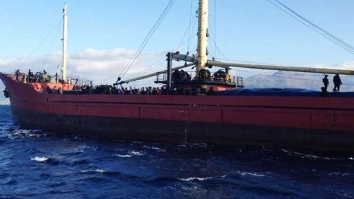Ακυβέρνητο φορτηγό πλοίο με σημαία Τουρκίας νότια της Μήλου
