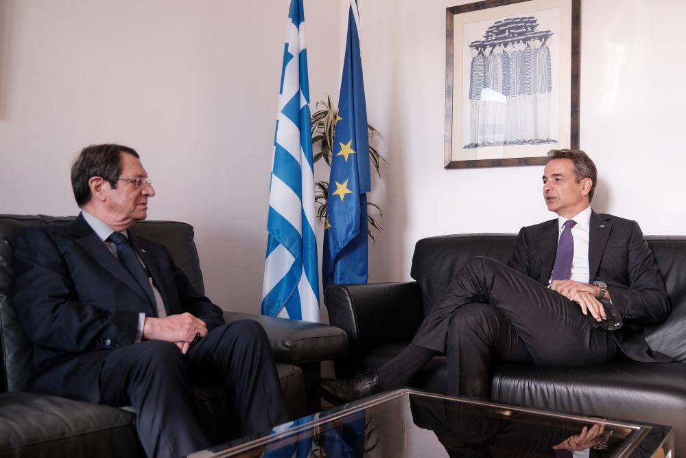 Στην Κύπρο ο Μητσοτάκης για την Τριμερή Σύνοδο Ελλάδας-Κύπρου-Αιγύπτου