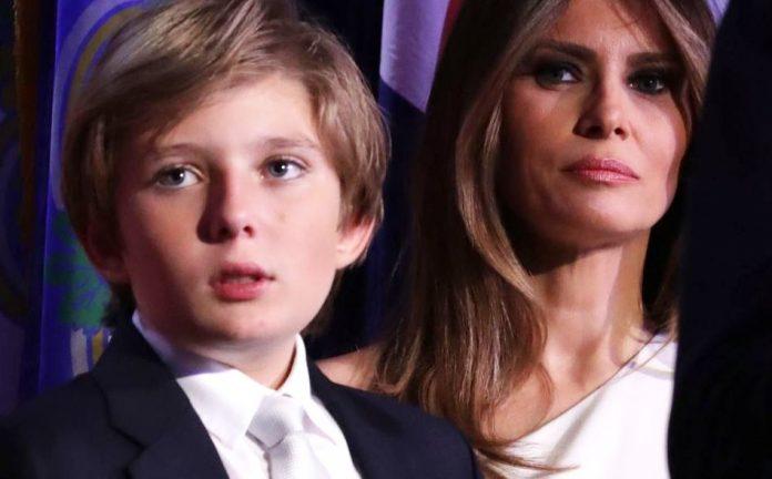 Μελάνια Τραμπ: Ο γιος μου διαγνώστηκε θετικός στον κορονοϊό