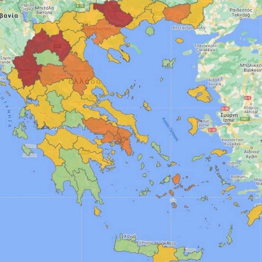 """Στο «κόκκινο» από σήμερα Γιάννενα και Σέρρες – Στη Θεσσαλονίκη ο πρόεδρος του ΕΟΔΥ – Εξαδάκτυλος: """"Θέμα χρόνου το lockdown στη συμπρωτεύουσα"""" – ΒΙΝΤΕΟ"""
