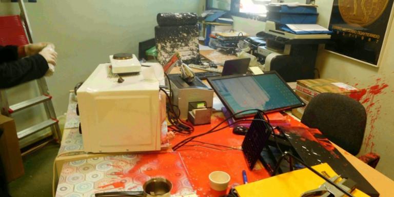 Ανάληψη ευθύνης για την επίθεση στην Πρυτανεία του ΕΜΠ