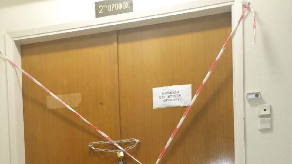 «Σφραγίστηκαν» τα γραφεία της δημοτικής παράταξης της Χρυσής Αυγής στον Δήμο Αθηναίων