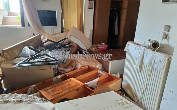 Κακοκαιρία στο Ηράκλειο: Απεγνωσμένοι κάτοικοι είδαν τα σπίτια τους να καταστρέφονται στις λάσπες – Τέσσερα άτομα εγκλωβίστηκαν σε αυτοκίνητο