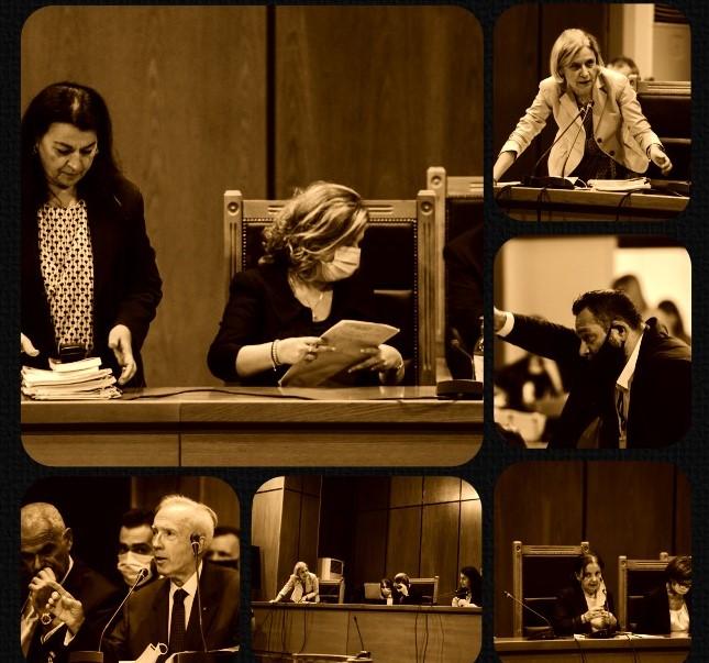 Η απόφαση για τα ελαφρυντικά, ο Λαγός, ο Πλεύρης και το αίτημα για αλλαγή έδρας μέσα από 10 ΚΛΙΚ