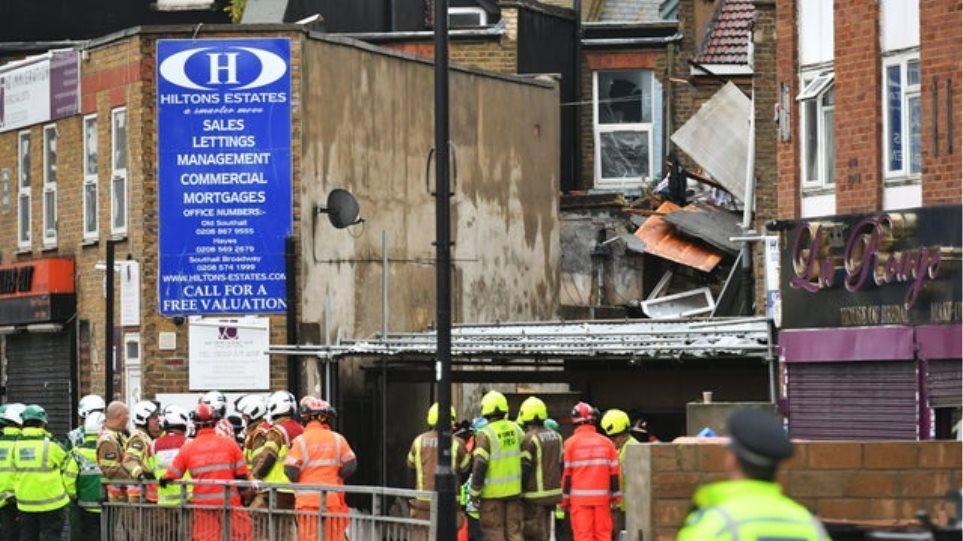 Μεγάλη έκρηξη αγωγού φυσικού αερίου στο Λονδίνο –  Δύο νεκροί -Διασώθηκαν πάνω από 20 εγκλωβισμένοι