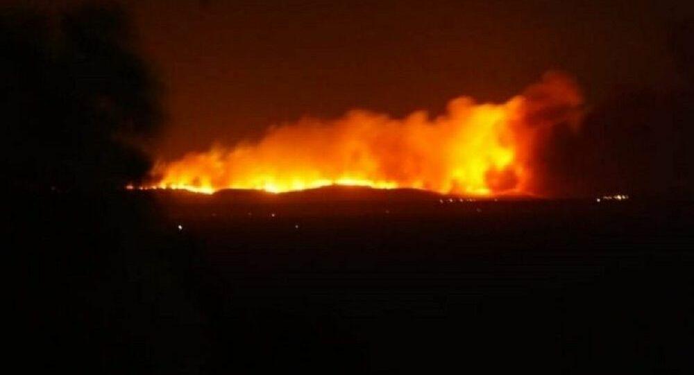 Συναγερμός στη Ρωσία από πυρκαγιά σε αποθήκη πυρομαχικών – Τεράστια επιχείρηση εκκένωσης (Βίντεο)