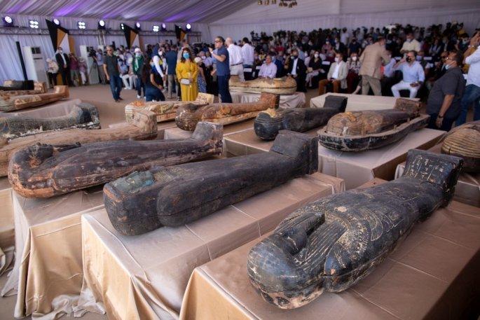 Δέος: 59 σαρκοφάγοι στο φως 2.500 χρόνια μετά – Σπουδαία ευρήματα στην νεκρόπολη της Σακκάρα – ΒΙΝΤΕΟ – ΦΩΤΟ