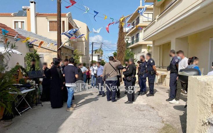 Χανιά : Ένταση σε εκκλησάκι λόγω συνωστισμού και έλλειψης μέτρων κατά του κορονοϊού