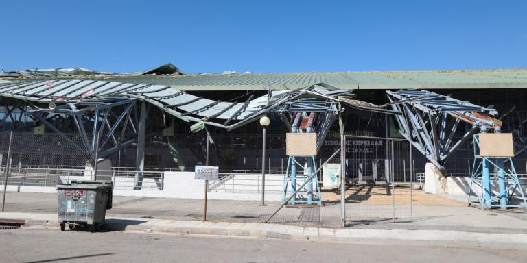 Σημαντικές ζημιές στο Ολυμπιακό Κέντρο Γαλατσίου μετά την κακοκαιρία