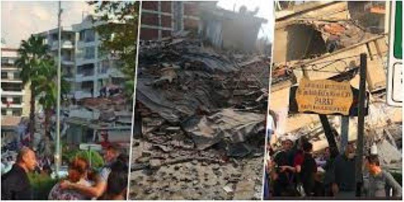 Χάος και θρήνος στα συντρίμμια της Σμύρνης: Τουλάχιστον 35 νεκροί και περισσότεροι από 850 τραυματίες από τον φονικό σεισμό – ΒΙΝΤΕΟ – ΦΩΤΟ