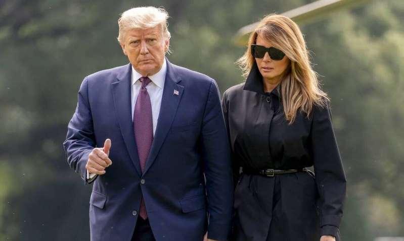 Συναγερμός στον Λευκό Οίκο – Θετικοί στον κορονοϊό Ντόναλντ και Μελάνια Τράμπ – BINTEO