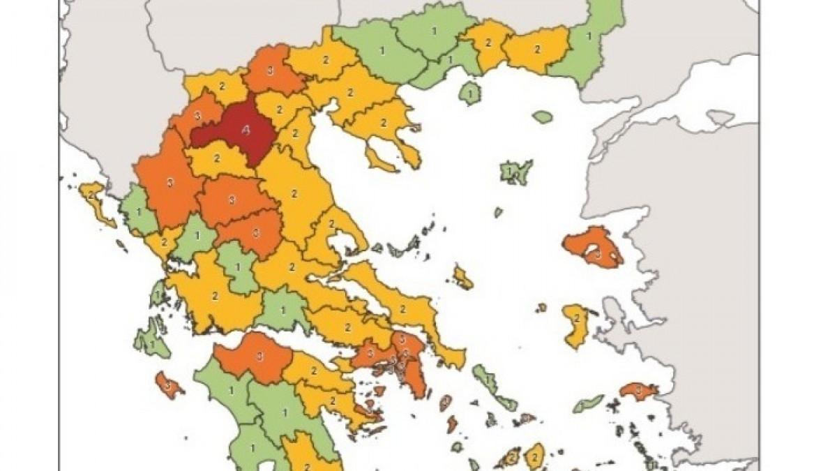 Κορονοϊός: Αυτές είναι οι αλλαγές στον υγειονομικό χάρτη που ισχύουν από σήμερα – Τα μέτρα ανά περιοχή