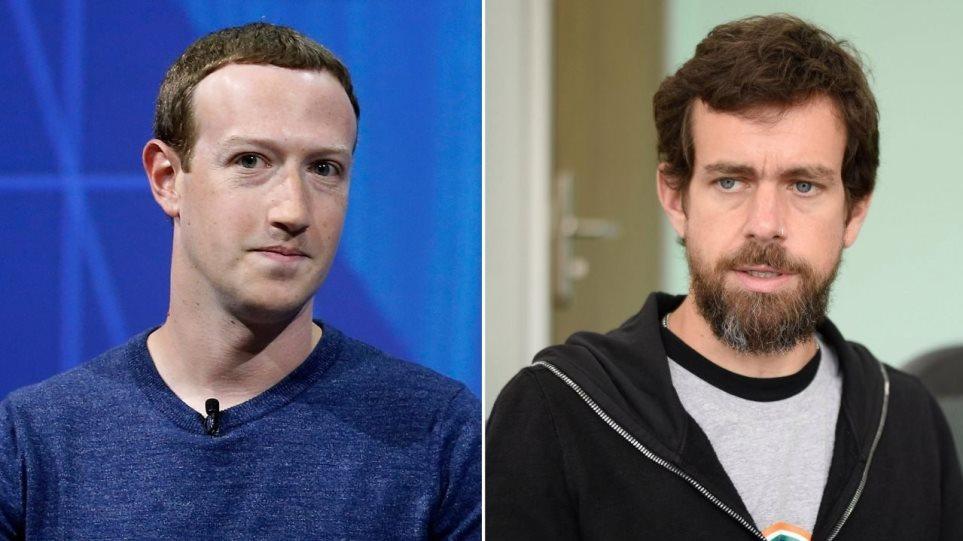 Η Γερουσία ψήφισε την κλήτευση των CEO του Facebook και του Twitter για «λογοκρισία»