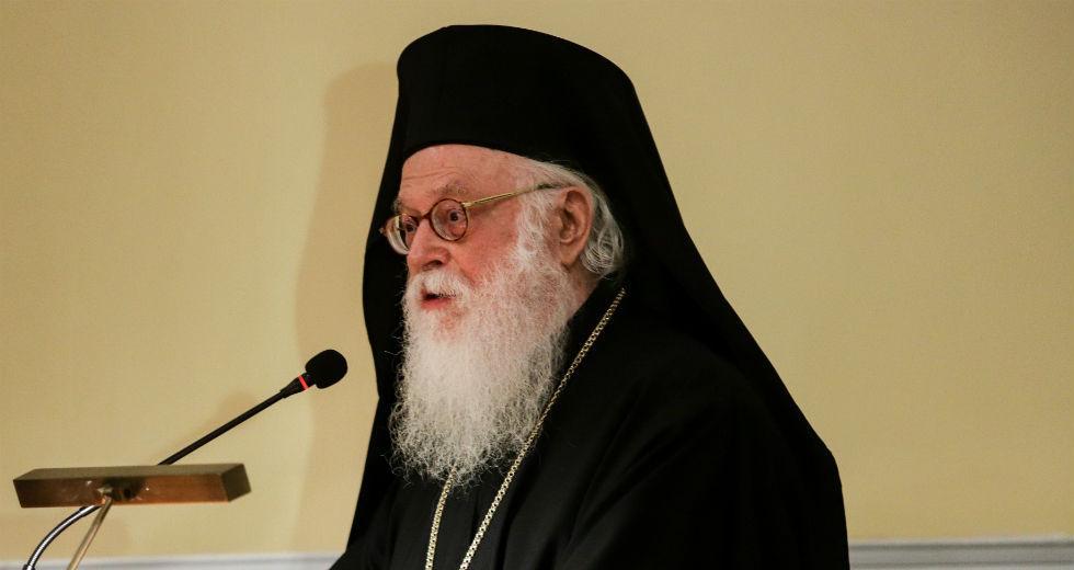 Στην εντατική του Ευαγγελισμού ο Αρχιεπίσκοπος Αλβανίας
