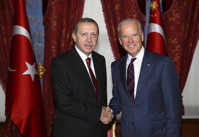 Συγχαρητήρια Ερντογάν σε Μπάιντεν με  … χρονοκαθυστέρηση