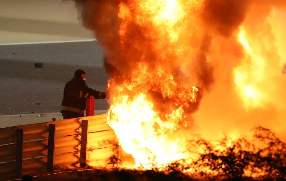 Τρομακτικό ατύχημα στη Formula 1: Εικόνες βγαλμένες από ταινία στο Grand Prix του Μπαχρέιν – ΒΙΝΤΕΟ – ΦΩΤΟ