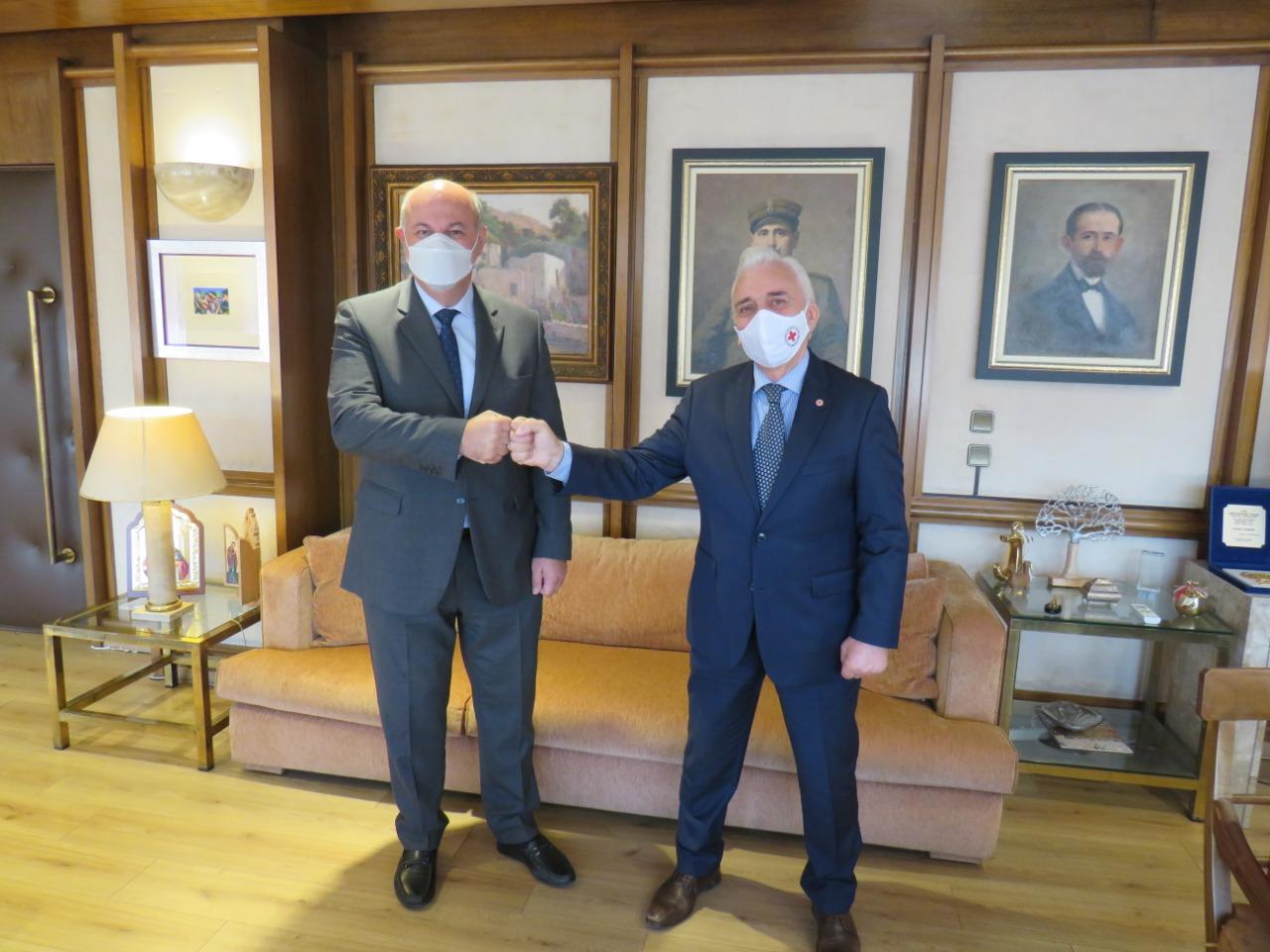 Μνημόνιο Συνεργασίας μεταξύ Υπoυργείου Δικαιοσύνης και Ερυθρού Σταυρού