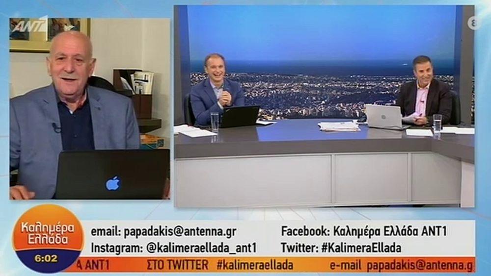 """Σε προληπτική καραντίνα ο Γιώργος Παπαδάκης: """"Ήρθα σε έμμεση επαφή με κρούσμα κορονοϊού"""" – ΒΙΝΤΕΟ"""