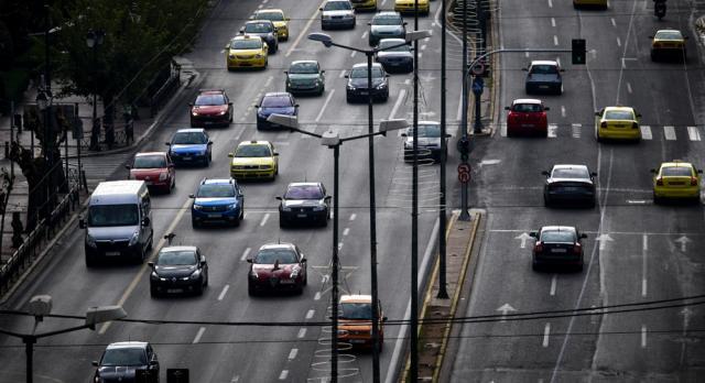 Αυξημένη κατά 35% σε σχέση με το πρώτο lockdown η κίνηση των οχημάτων σήμερα στην Αττική