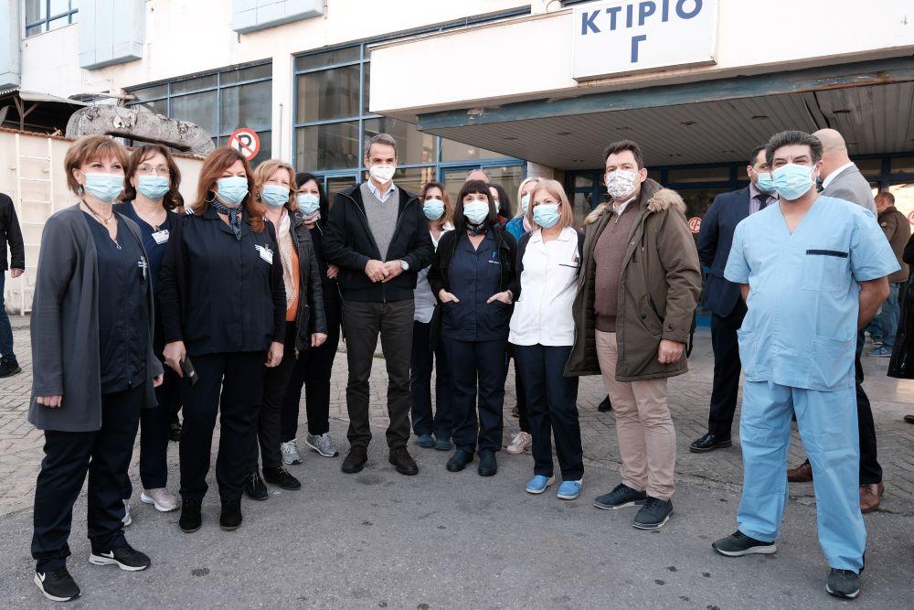 Μητσοτάκης από Θεσσαλονίκη: Όταν ξεπεράσουμε την κρίση το ΕΣΥ θα είναι πολύ πιο ισχυρό – Το εμβόλιο για τον κορονοϊό θα είναι δωρεάν – ΒΙΝΤΕΟ – ΦΩΤΟ