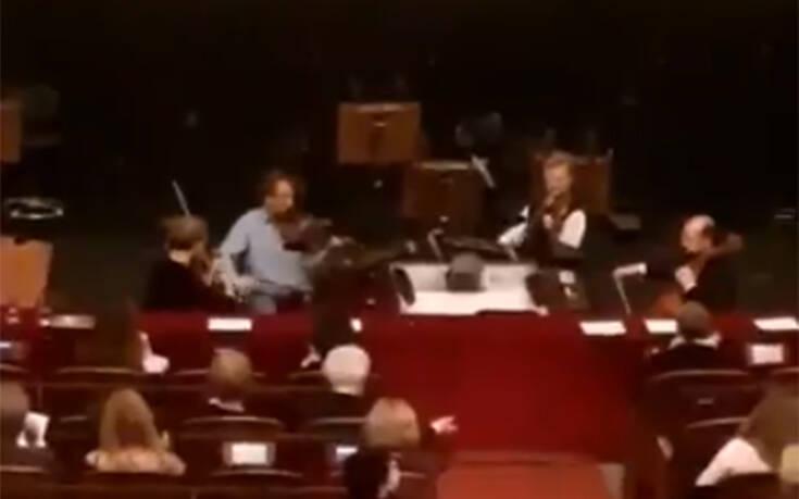 """Η Κρατική Όπερα της Βιέννης ακόμα και την ώρα του μακελειού έδωσε τον δικό της """"ρυθμό"""" (ΒΙΝΤΕΟ)"""