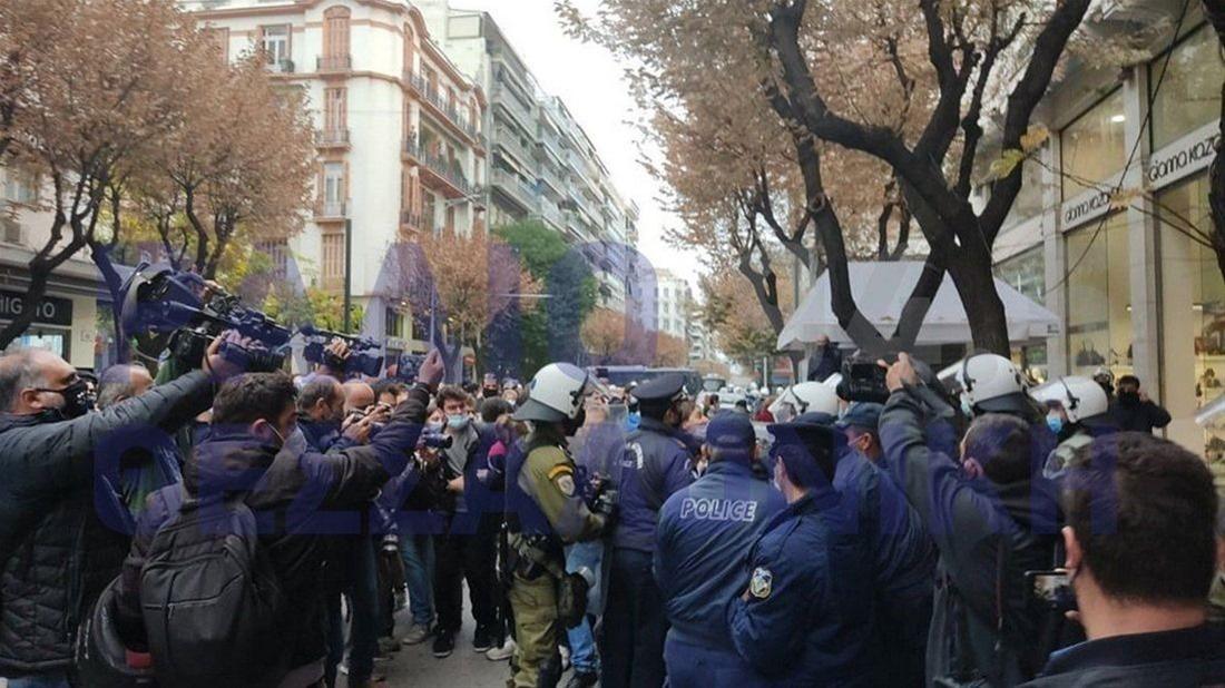 Θεσσαλονίκη: Ελεύθεροι οι έξι συλληφθέντες από την χθεσινή κινητοποίηση – Ελεύθεροι οι συλληφθέντες και στα Σεπόλια (ΒΙΝΤΕΟ)