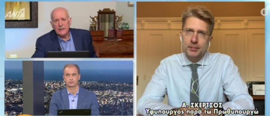 'Aκης Σκέρτσος: «Το Πολυτεχνείο είναι ευκαιρία ενότητας – Κοινός εχθρός ο ιός» – ΒΙΝΤΕΟ