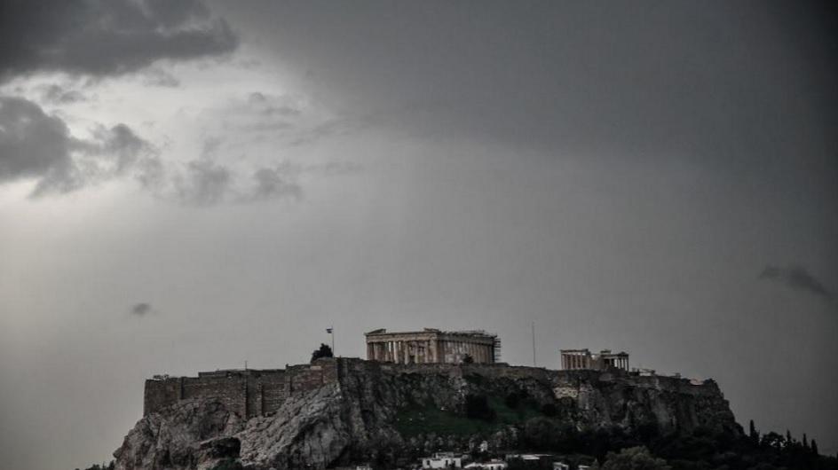Πλημμύρισε και η Ακρόπολη – Οι εξηγήσεις της υπουργού – ΒΙΝΤΕΟ