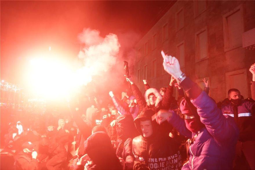 Χάος στην Αλβανία: Ξέσπασμα οργής μετά την δολοφονία 25χρονου από αστυνομικούς /ΒΙΝΤΕΟ, ΦΩΤΟ