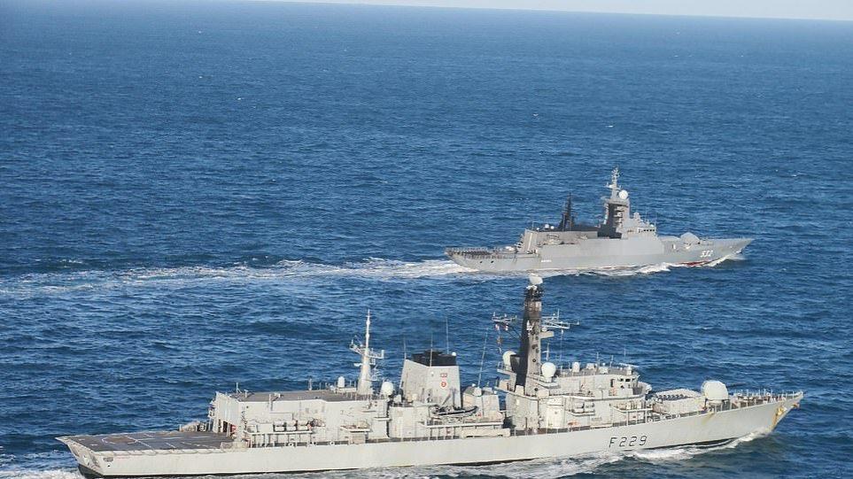 Βρετανία: Συναγερμός για την παρουσία ρωσικών πλοίων στα χωρικά ύδατα της χώρας