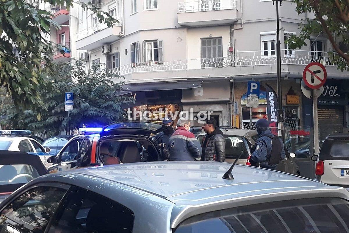 Θεσσαλονίκη: Πήγε να κάνει διάρρηξη και τον έδειραν / ΦΩΤΟ