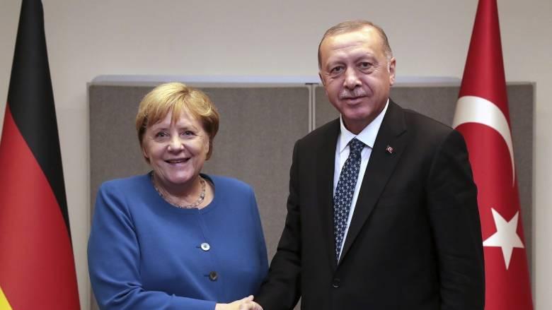 Τηλεδιάσκεψη Μέρκελ – Ερντογάν
