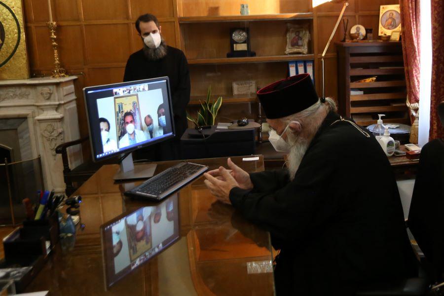 Αρχιεπίσκοπος Ιερώνυμος προς το υγειονομικό προσωπικό: Διδάσκετε την αγαθοεργία περισσότερο από όλους μας – ΒΙΝΤΕΟ – ΦΩΤΟ