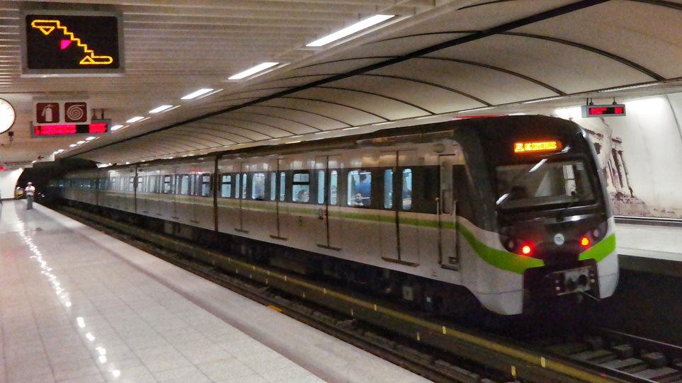 Κλειστοί αύριο Κυριακή έξι σταθμοί του μετρό