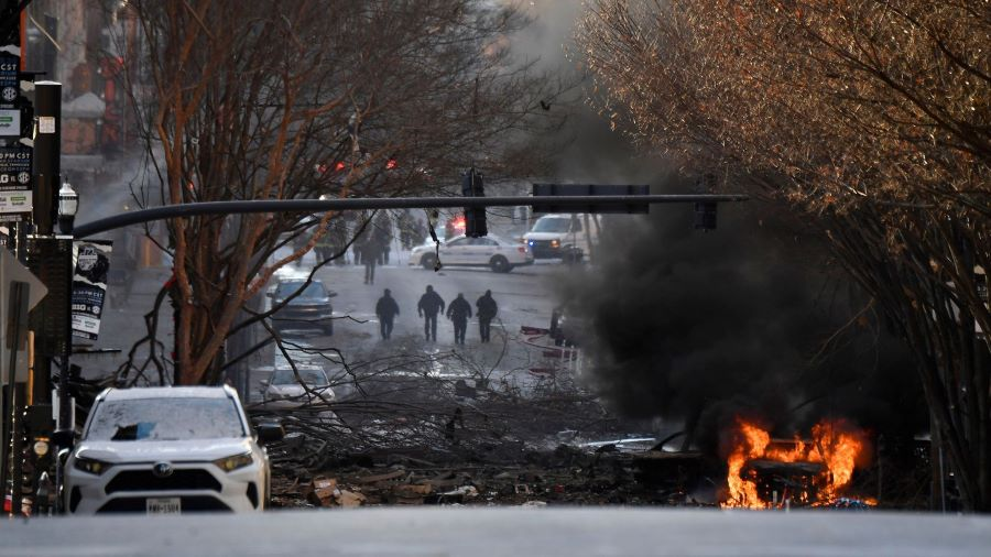 Συναγερμός στην Αμερική: Έκρηξη στο κέντρο του Νάσβιλ – ΒΙΝΤΕΟ – ΦΩΤΟ
