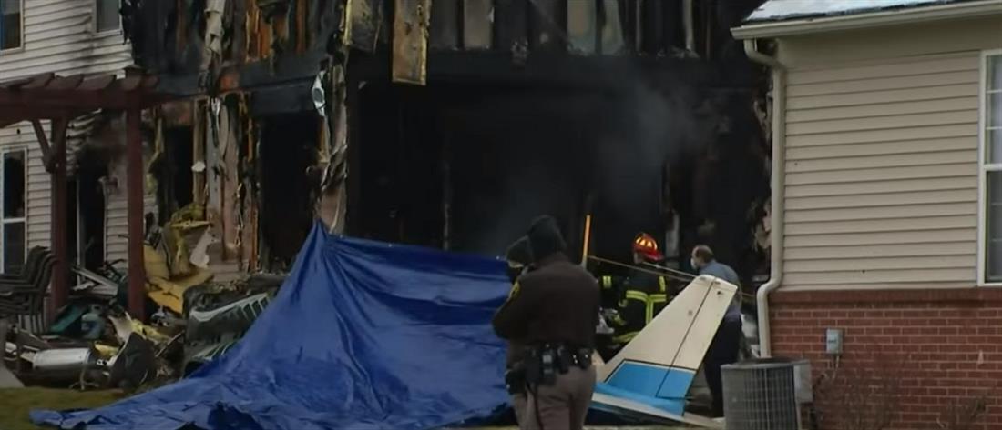 Συντριβή αεροσκάφους σε σπίτι – Σκοτώθηκαν τρεις άνθρωποι /ΒΙΝΤΕΟ