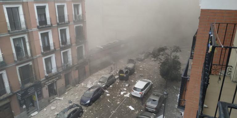 Χάος στο κέντρο της Μαδρίτης – Έκρηξη σε πολυκατοικία – 3 νεκροί και πολλοί τραυματίες /ΒΙΝΤΕΟ
