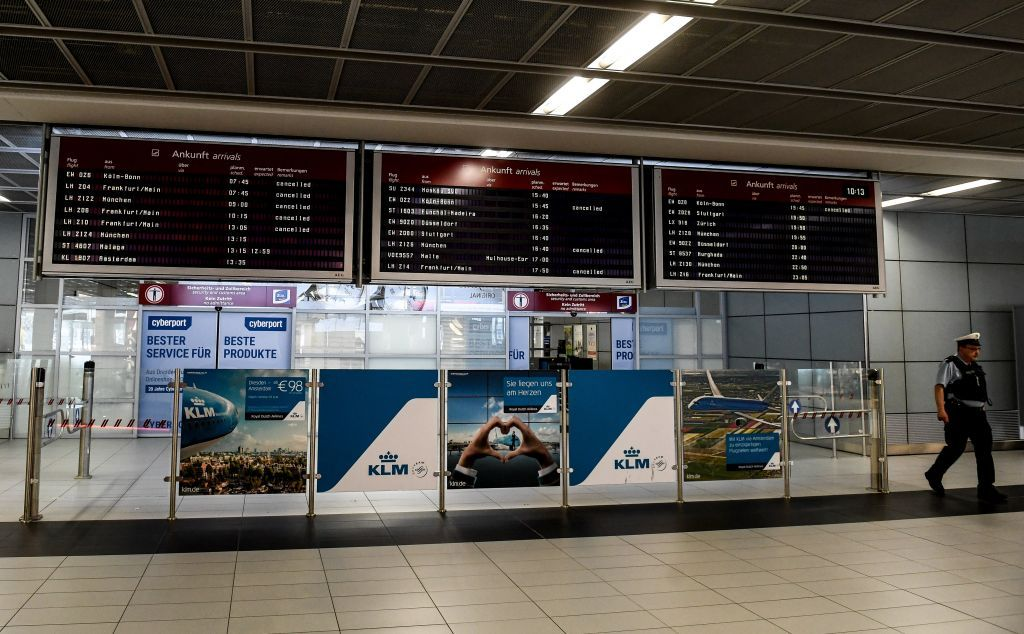 Φρανκφούρτη : Εκκενώθηκε μέρος του αεροδρομίου μετά από πληροφορίες για βόμβα /ΒΙΝΤΕΟ