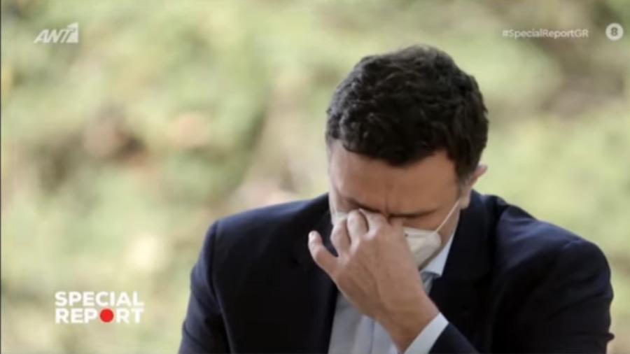 """""""Λύγισε"""" on air ο Κικίλιας και ξέσπασε σε δάκρυα για τους υγειονομικούς:Έχω δεθεί άρρηκτα με τους ανθρώπους της υγείας – ΒΙΝΤΕΟ"""